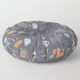 Cute Happy Halloween Floor Pillow