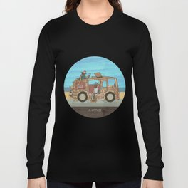Woody Wagon Long Sleeve T-shirt