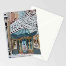 Theater Art Stationery Cards