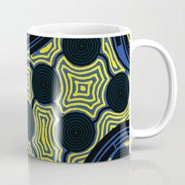 Aboriginal Art – The Rivers around Us Coffee Mug