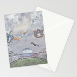 Auburn Tigers University War Eagle Stationery Cards
