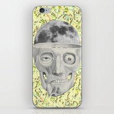 poor skeleton steps out iPhone & iPod Skin