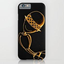 Ludo Black Gold iPhone Case