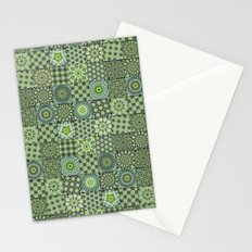 Green Valley Quilt Stationery Cards