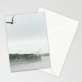 rain coast Stationery Cards