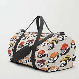Sushi Panda Duffle Bag