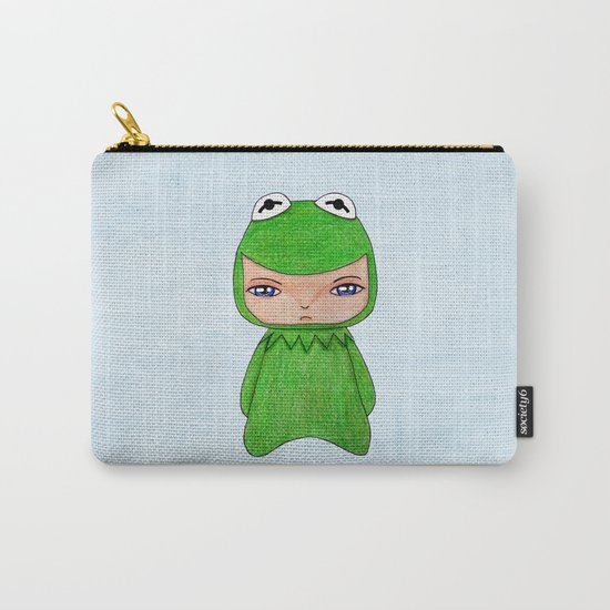 A Boy - Kermit the frog Carry-All Pouch