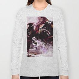 Purple Abstract Art / Surrealist Painting Long Sleeve T-shirt