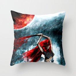Red Sonja Throw Pillow