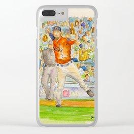 Alex Bregman - Astros Third Base Clear iPhone Case