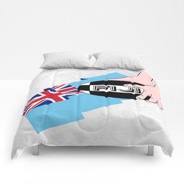 Fiji Rugby Flag Comforters