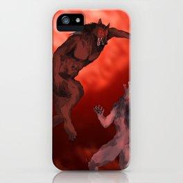 Hati vs Skoll iPhone Case