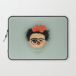 """""""Pies para qué los quiero si tengo alas para volar""""  (Frida Kahlo) Laptop Sleeve"""