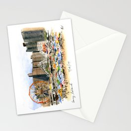 Coney Island on the Fourth of July Stationery Cards