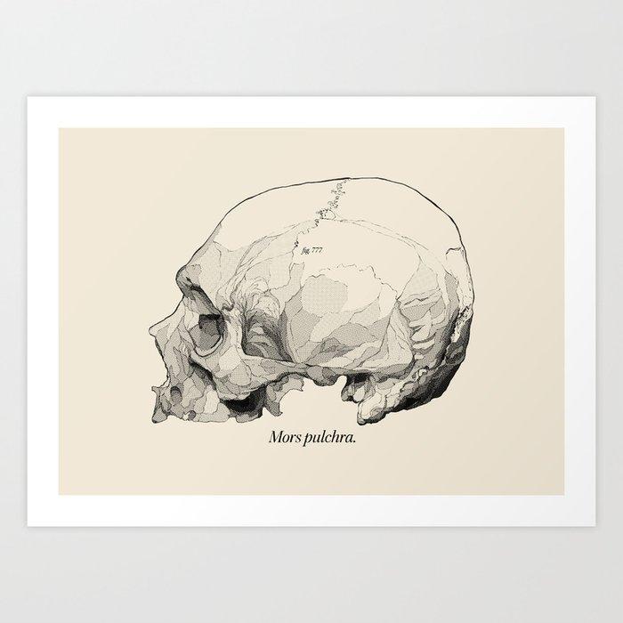 Mors Pulchra III Art Print