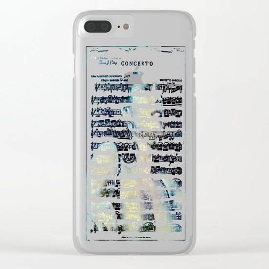 Chamber Music: For Dear Life Clear iPhone Case