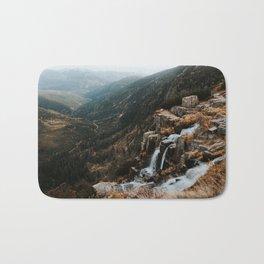Autumn falls - Landscape and Nature Photography Bath Mat