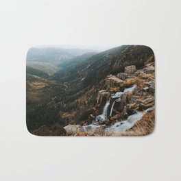 Autumn falls - Landscape and Nature Photography Bath Mat