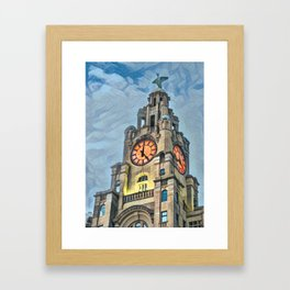 It's 5 o clock somewhere - Liverpool Framed Art Print