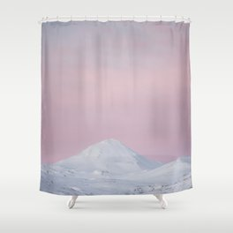 Candy mountain - Landscape and Nature Photography Shower Curtain