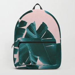 Banana Leaves Tropical Vibes #1 #foliage #decor #art #society6 Backpack