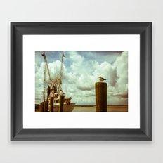 Apalachicola Framed Art Print