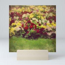 Vintage Pretty Flowers Mini Art Print
