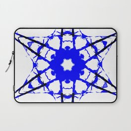 Blue Star Abstract Laptop Sleeve