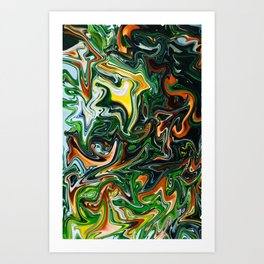 Citrus Jungle Art Print