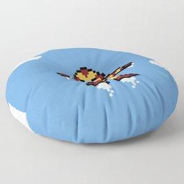 Iron Pixel Floor Pillow