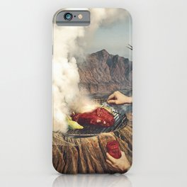 On A Good Day - Volcano BBQ iPhone Case