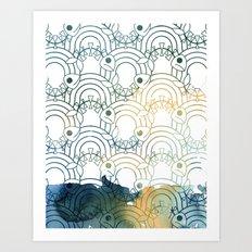 Haunted Stream Art Print