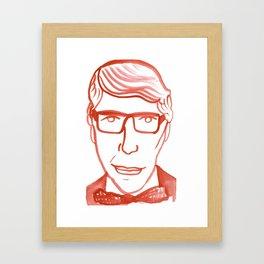 Yves Framed Art Print