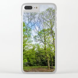 The six trees Clear iPhone Case