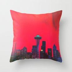 Seattle. Throw Pillow