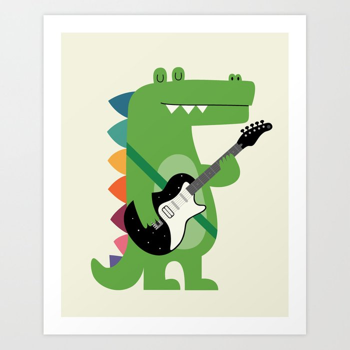 Croco Rock Kunstdrucke