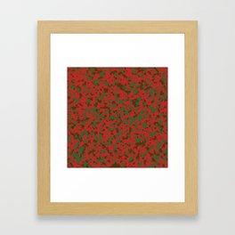 Camo 8 - Warlord V2 Framed Art Print