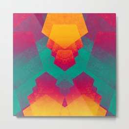 Pentagon Vibrancy Metal Print