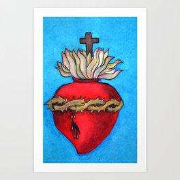Most Sacred Heart of Jesus Art Print