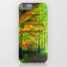 Sunlit trees iPhone 6s Slim Case