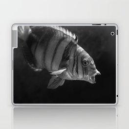 Clown Fish (Black and White) Laptop & iPad Skin
