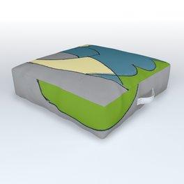 Watering Can Outdoor Floor Cushion