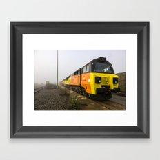 Class 70s in the Mist Framed Art Print