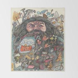 Hagrid's Beard Throw Blanket