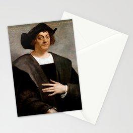 Christopher Columbus Portrait - Sebastiano del Piombo - 1519 Stationery Cards