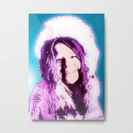 Janis Metal Print