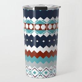 Navajo Pattern Travel Mug