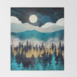 Evening Mist Throw Blanket