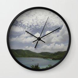 Maho Bay, St John - 2010 Wall Clock