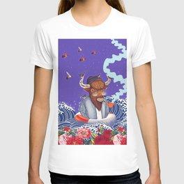 Buffalo in the sea T-shirt